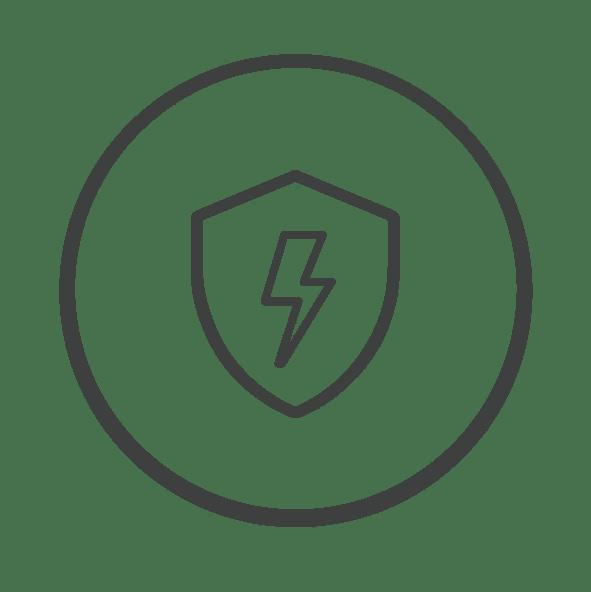 Icon ป้องกันไฟฟ้าสถิต